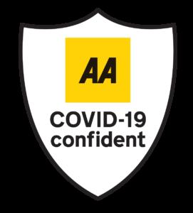 B&B Wylam AA Covid-19 confident logo