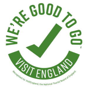 B&B Wylam We're good to go Visit England logo